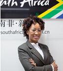 品牌南非中国区经理TebogoLefifi照片