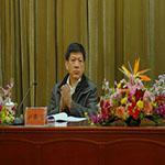 国际石油工程公司原总经理。刘锦信照片