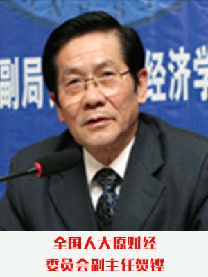 全国人大原财经委员会副主任贺铿照片