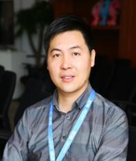 37手游副总裁刘军照片