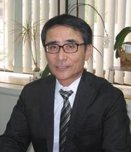 日本净水协会副总裁田中俊辅照片