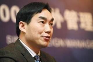 杉杉控股集团董事局副席胡海平照片