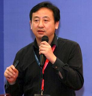德豪润达LED芯片研发副总裁莫庆伟照片