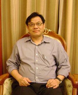 台湾海洋大学教授陆振冈照片