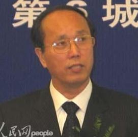 上海市现代服务业联合会会长周禹鹏照片