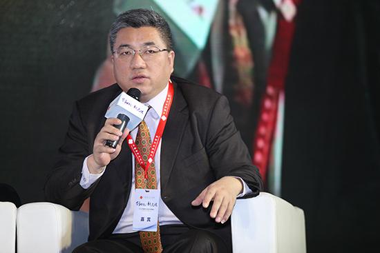 北京盛世景投资管理公司董事长吴敏文照片