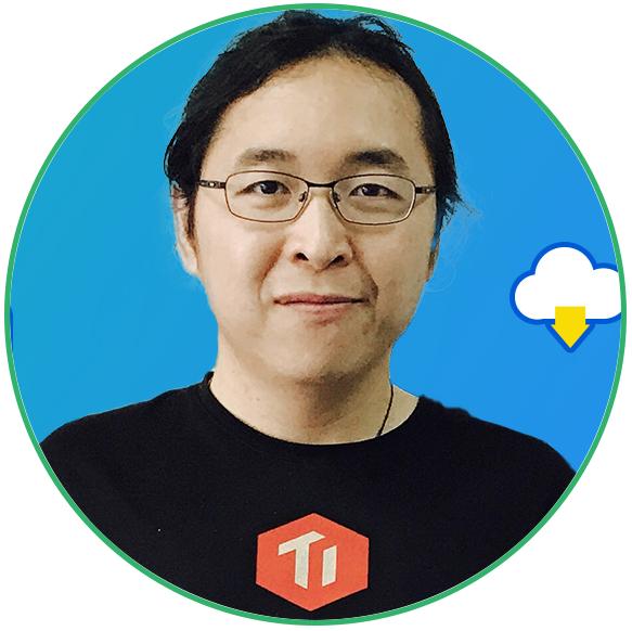 PingCAP 联合创始人兼 CTO黄东旭照片