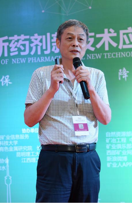湖南有色金属研究院、研究员级高级工程师、选矿药剂专家朱一民照片