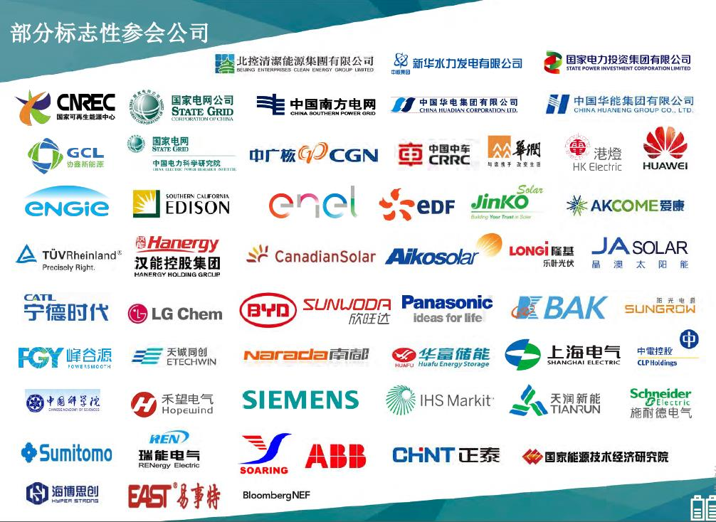 CESS2019第六届储能创新与技术峰会(深圳)