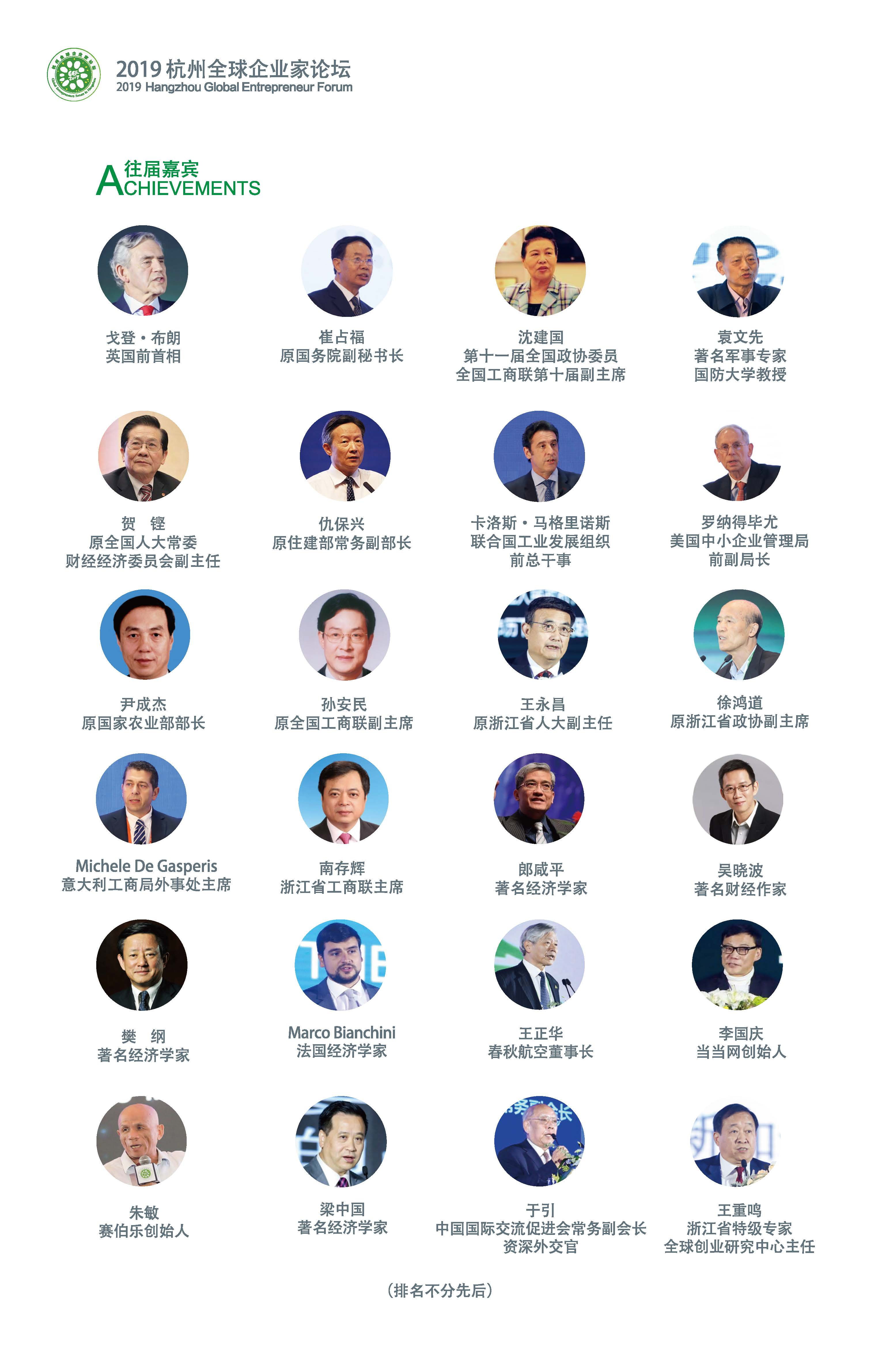 2019第四届杭州全球企业家论坛