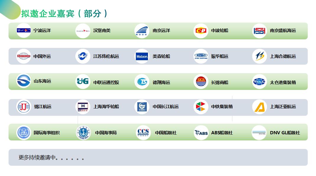 2019国际船舶限硫技术峰会(上海)