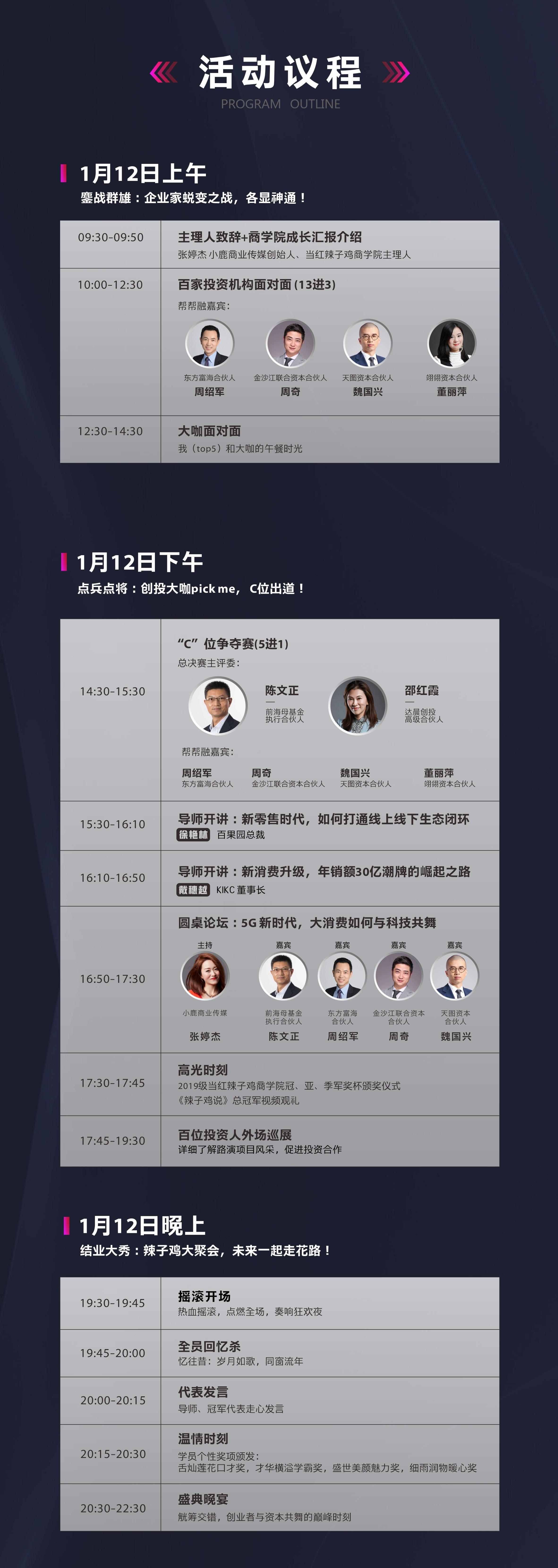 科技or消费2020拼出C位暨2019级当红辣子鸡商学院超级年度盛典(深圳)