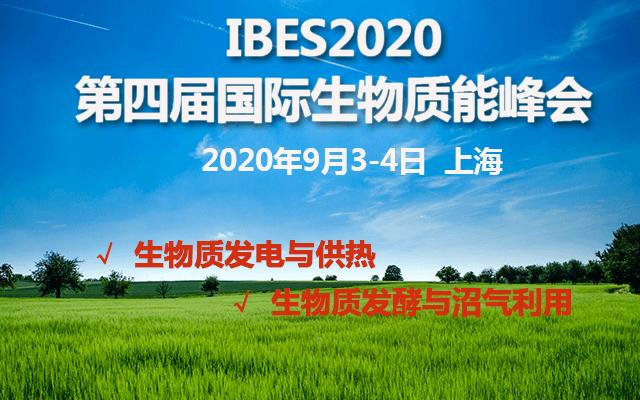 2020第四届国际生物质能峰会