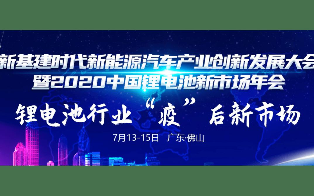 2020中国锂电池市场年会
