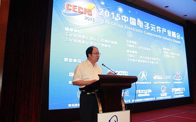 2015中国电子元件产业峰会现场图片