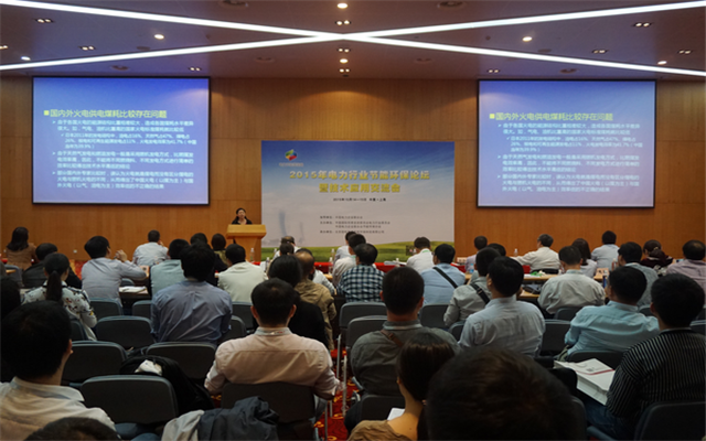 2015年电力行业节能环保论坛现场图片