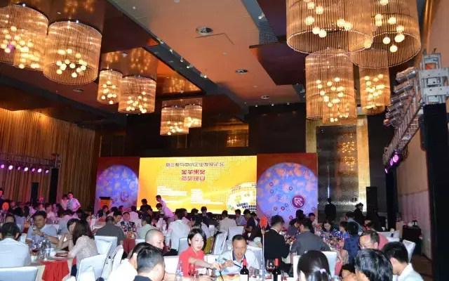 新三板与中小企业发展论坛 金苹果颁奖晚宴现场图片
