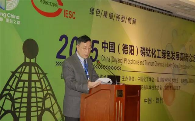 2016中国(德阳)磷钛化工高端论坛现场图片