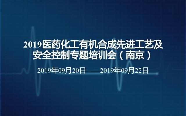 2019医药化工有机合成先进工艺及安全控制专题培训会(南京)