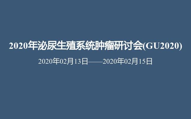 2020年泌尿生殖系统肿瘤研讨会(GU2020)
