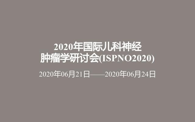 2020年国际儿科神经肿瘤学研讨会(ISPNO2020)