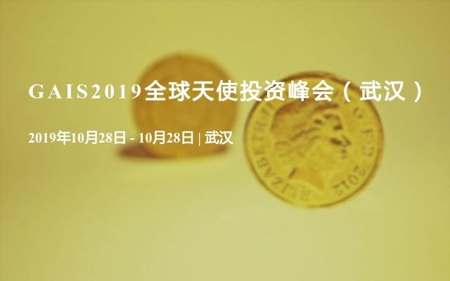 GAIS2019全球天使投资峰会(武汉)