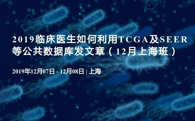 2019临床医生如何利用TCGA及SEER等公共数据库发文章(12月上海班)