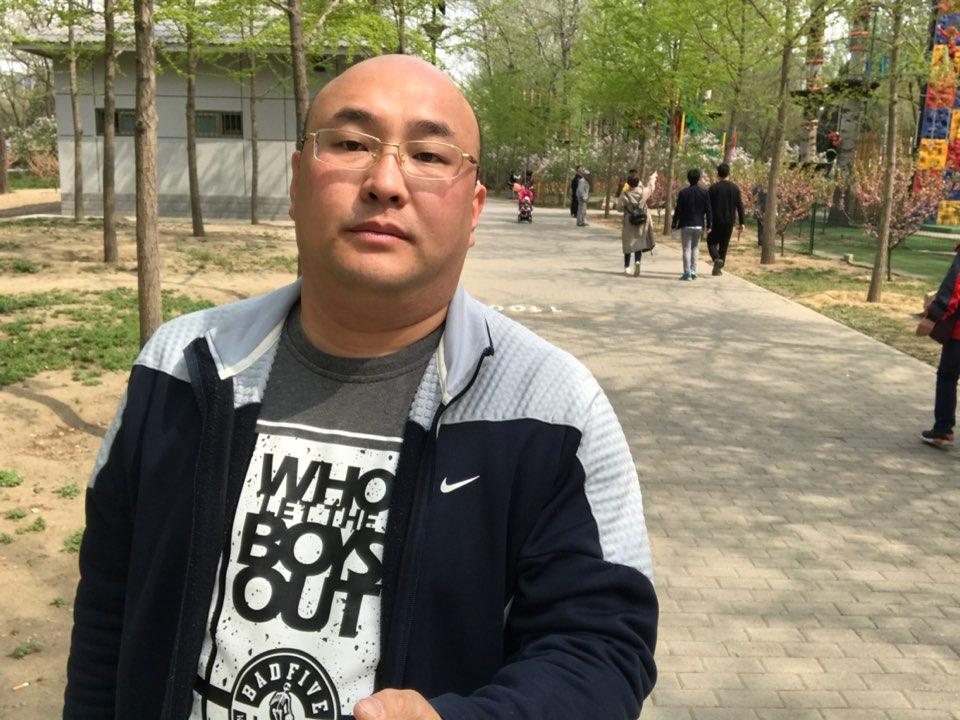 北京海德林纳建材有限公司经理张俊涛照片
