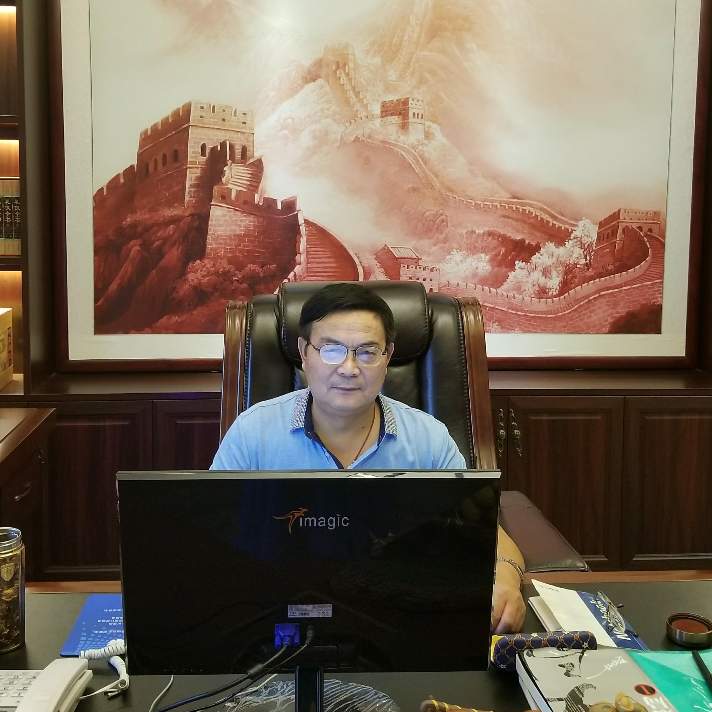 亚日集团副总晋少卿照片