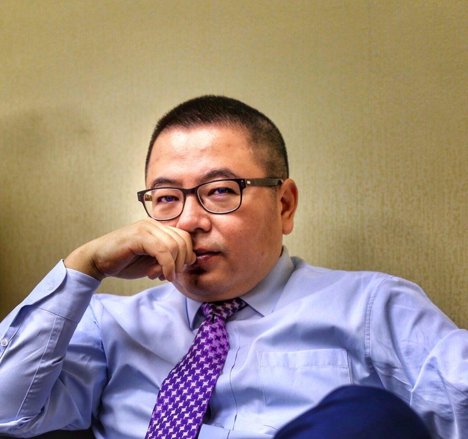 北京华阳创美文化科技有限公司董事长何亚明照片