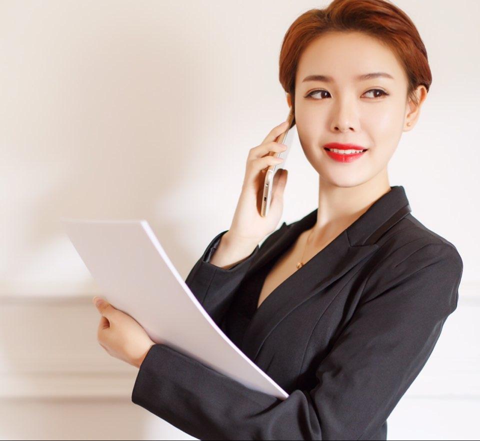 北京摩尔爱神服装有限责任公司监事长吴晶晶照片