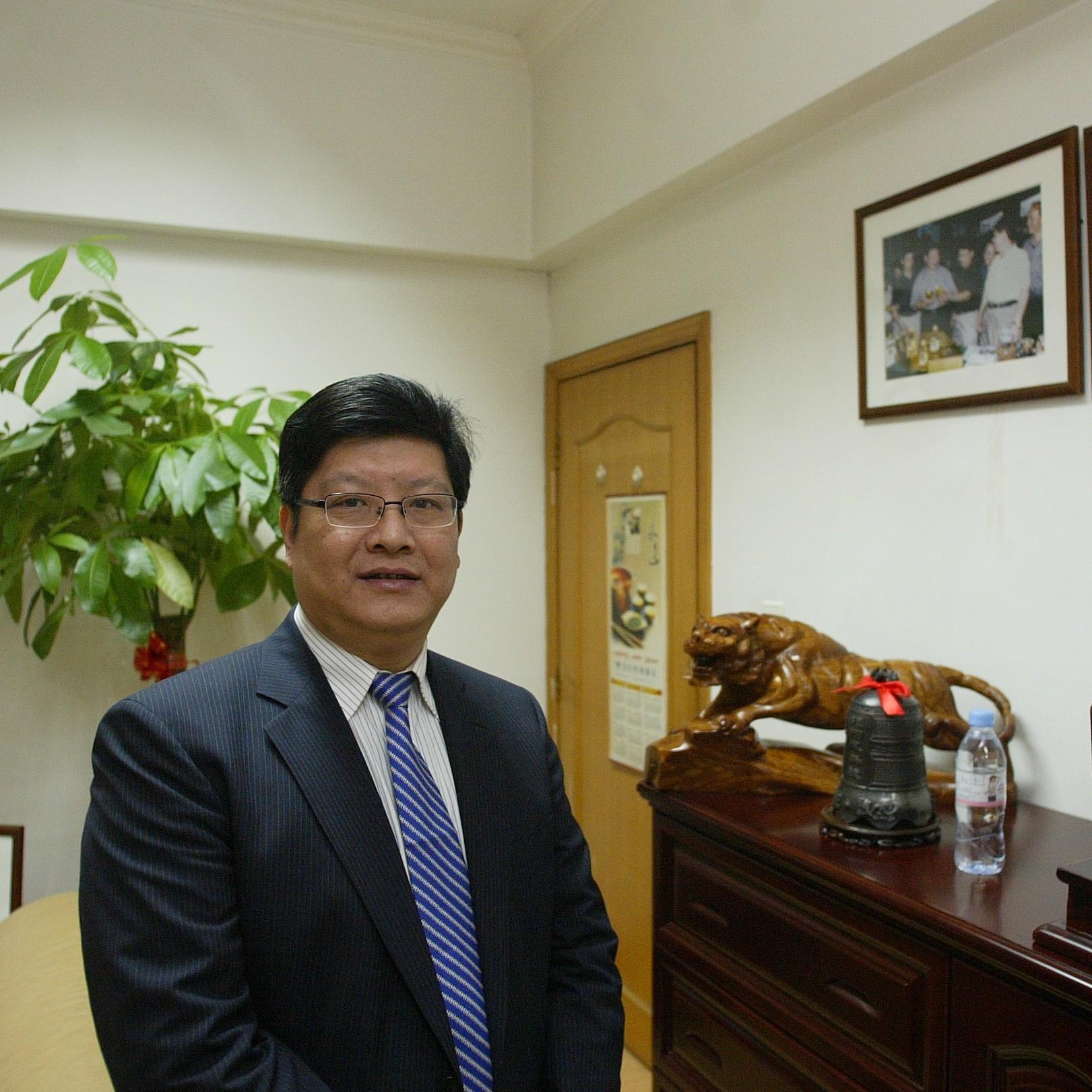 杭州安邦农业生物科技\n宁夏三泰能源贸易董事长杨钟鸣照片