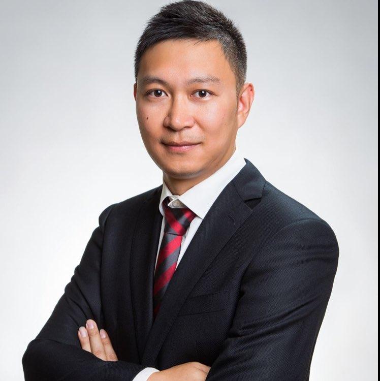 Oracle销售主管李安邦照片