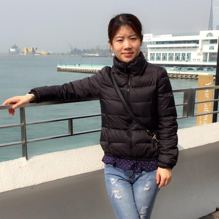 广州翼锋信息科技有限公司经理靖小婷照片
