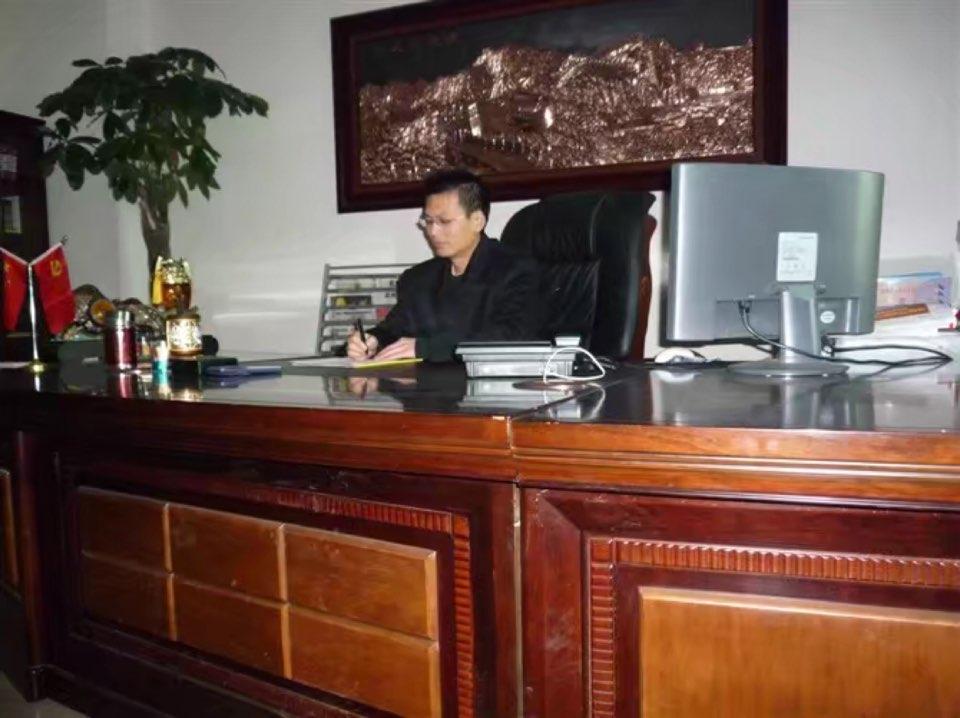 武汉第七建设集团有限公司总工程师唐志刚照片