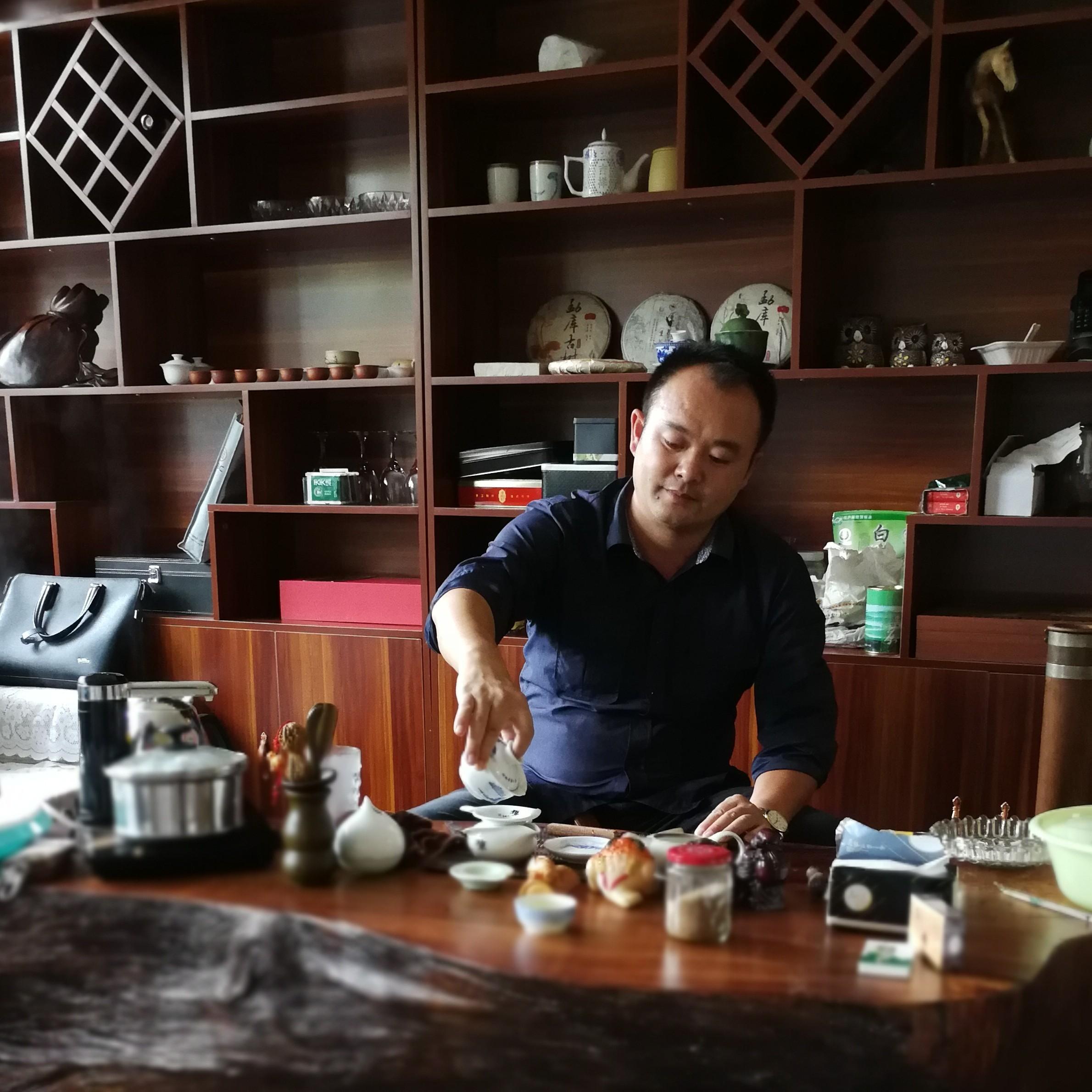 云南云州园艺工程有限公司董事长韦剑宏照片