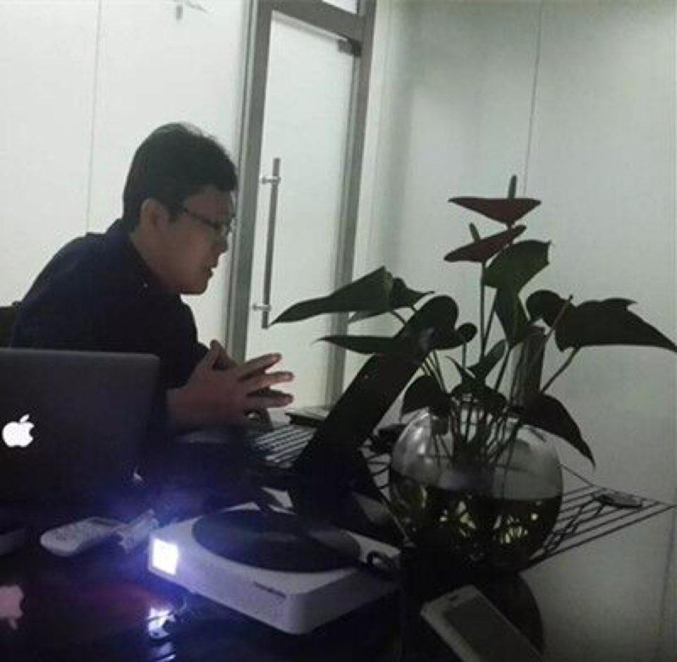 中华零售商业联合会秘书李成立照片