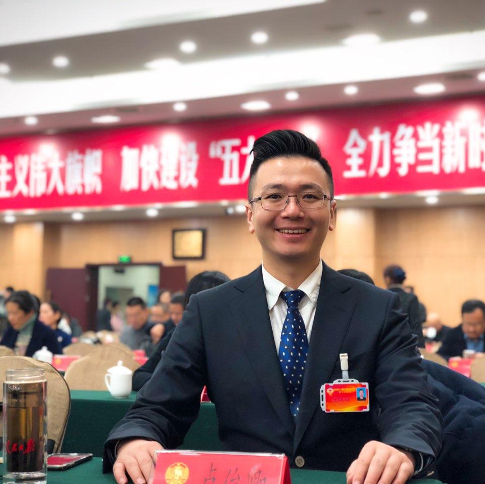 杭州昊成智能科技有限公司董事长卢俊卿照片