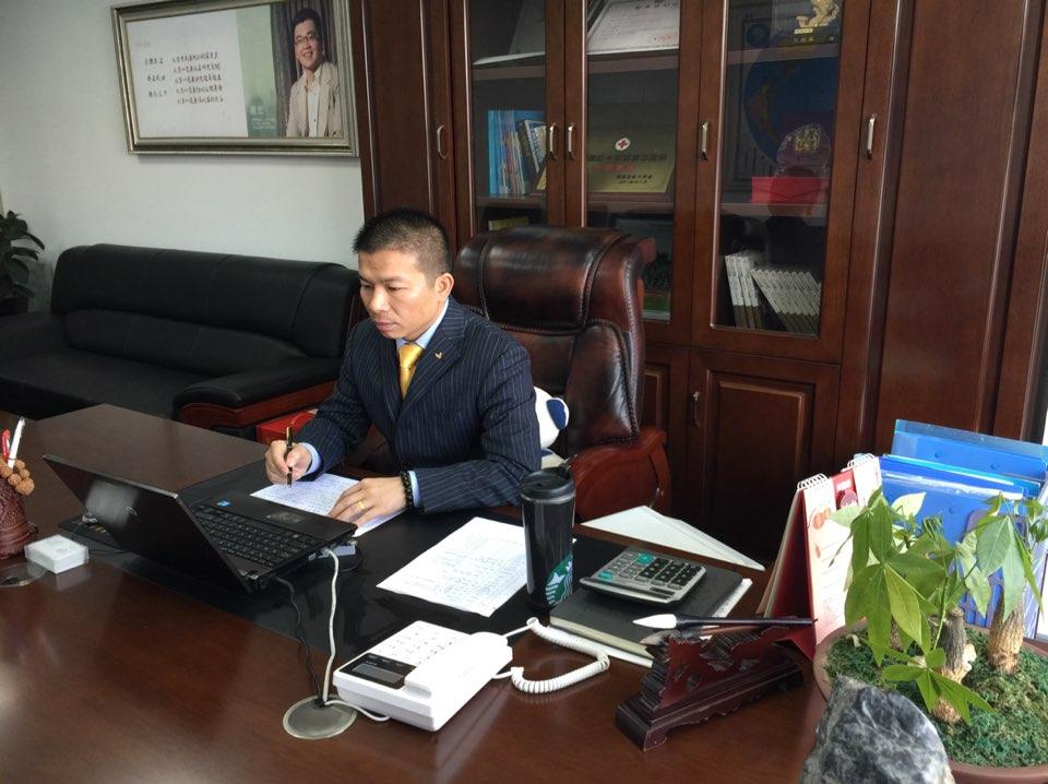贝因美婴童食品股份有限公司湖南省区经理朱中兴照片