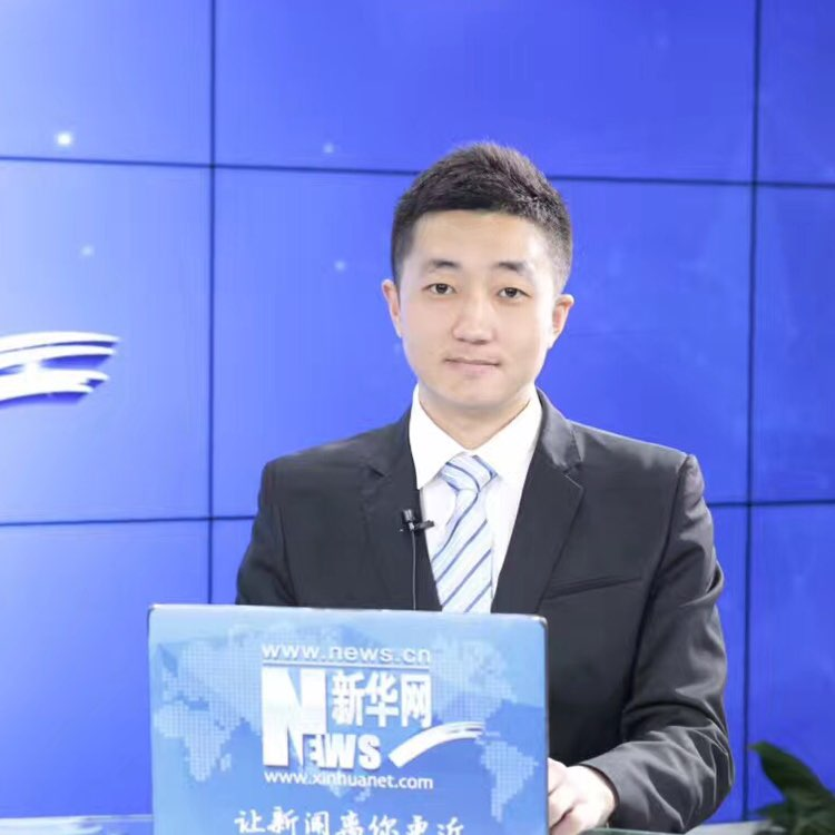新华网编辑记者孙广见照片