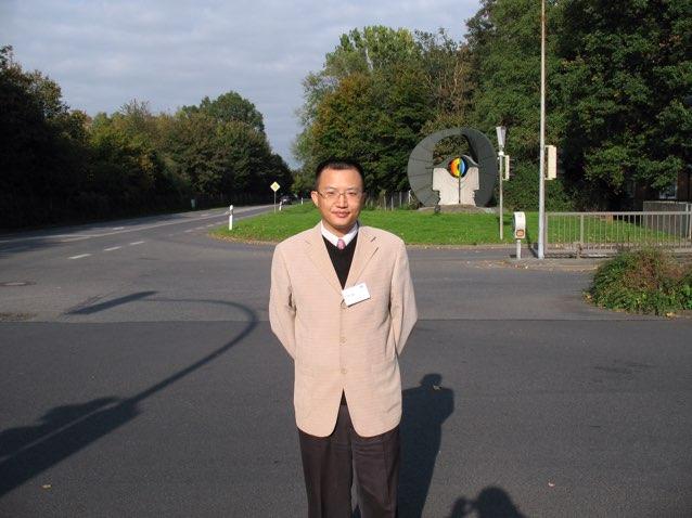 中国计量科学研究院副研究员徐锐锋照片