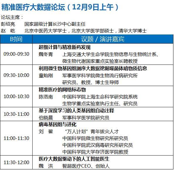 2017中国大数据技术大会(BDTC)