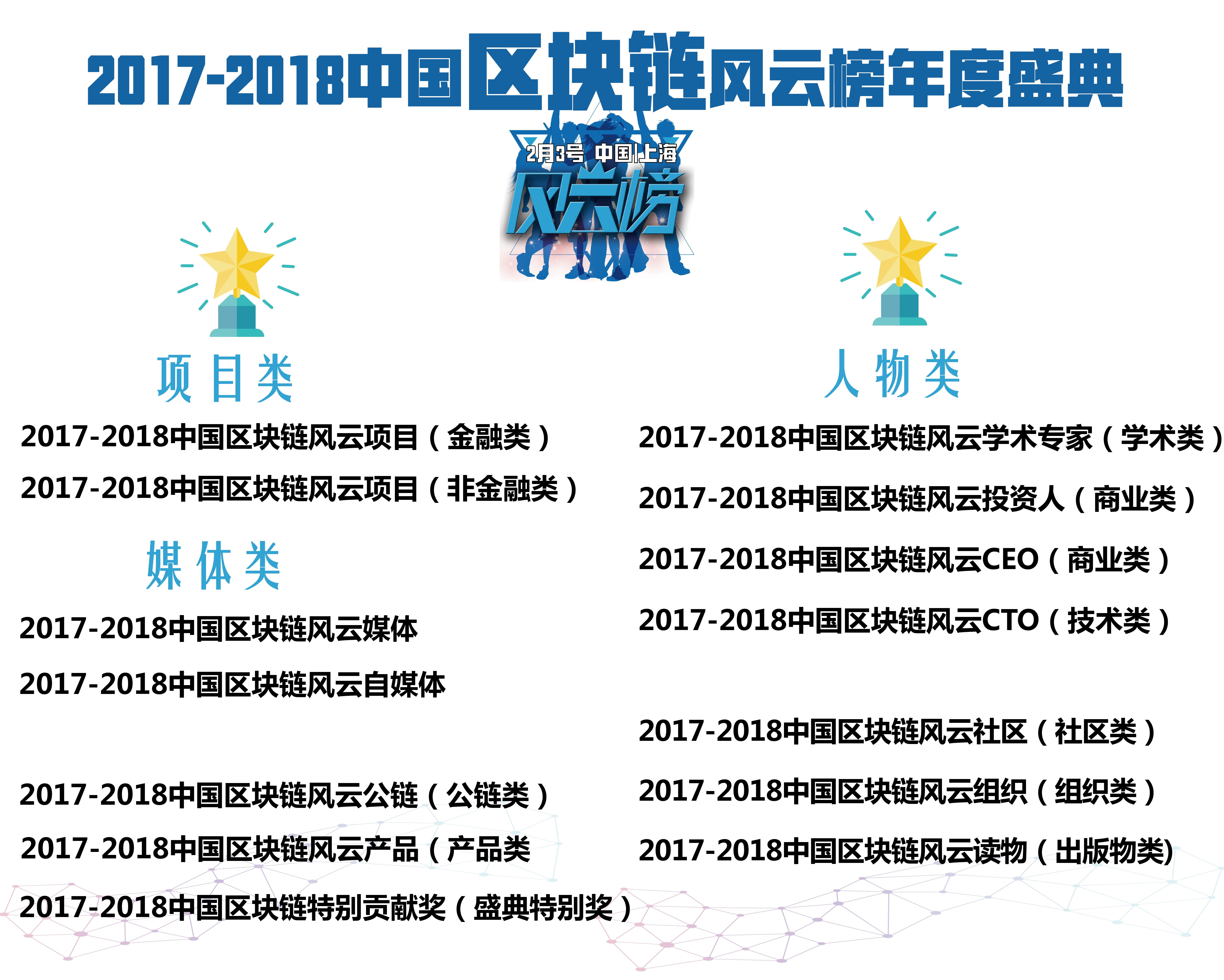 2017-2018中国区块链风云榜盛典