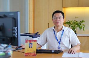 江西银行 信息科技部总经理李辉明照片