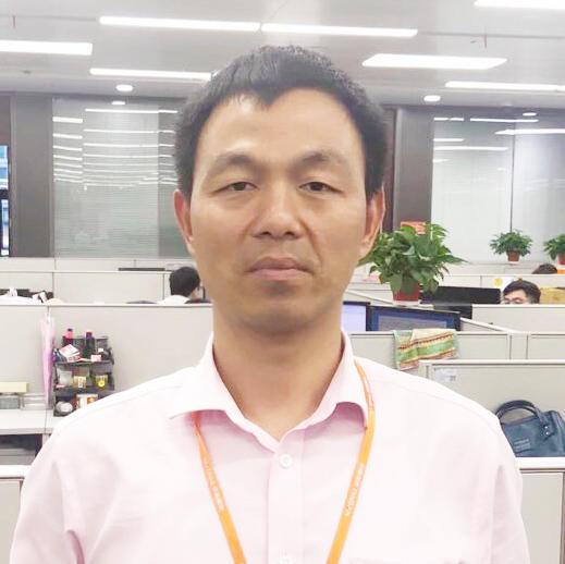 平安银行零售网络金融事业部首席架构师吴其敏照片