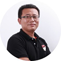 百度外卖首席数据架构师梁福坤照片