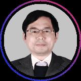 东师范大学教育技术学教学委员会主任吴永和照片