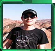 清华大学网络与信息安全实验室成员裴中煜照片