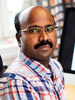 哥德堡大学教授Chandrasekhar KANDURI