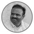 ThoughtWorks市场技术总监Bharani Subramaniam照片